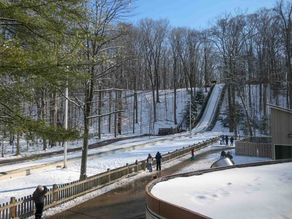 Cleveland toboggan chutes in Strongsville