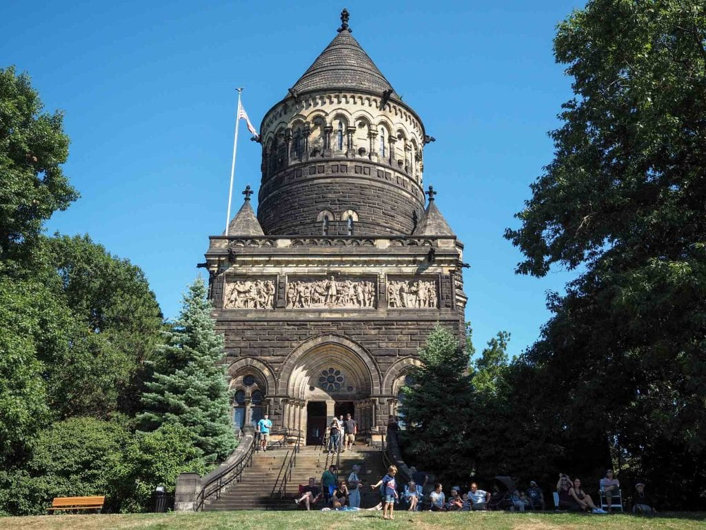 James A. Garfield Memorial in Lake View Cemetery