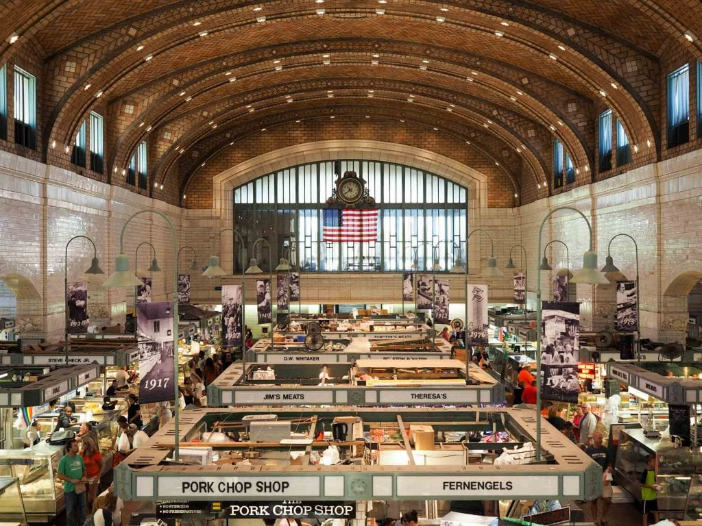 Inside West Side Market
