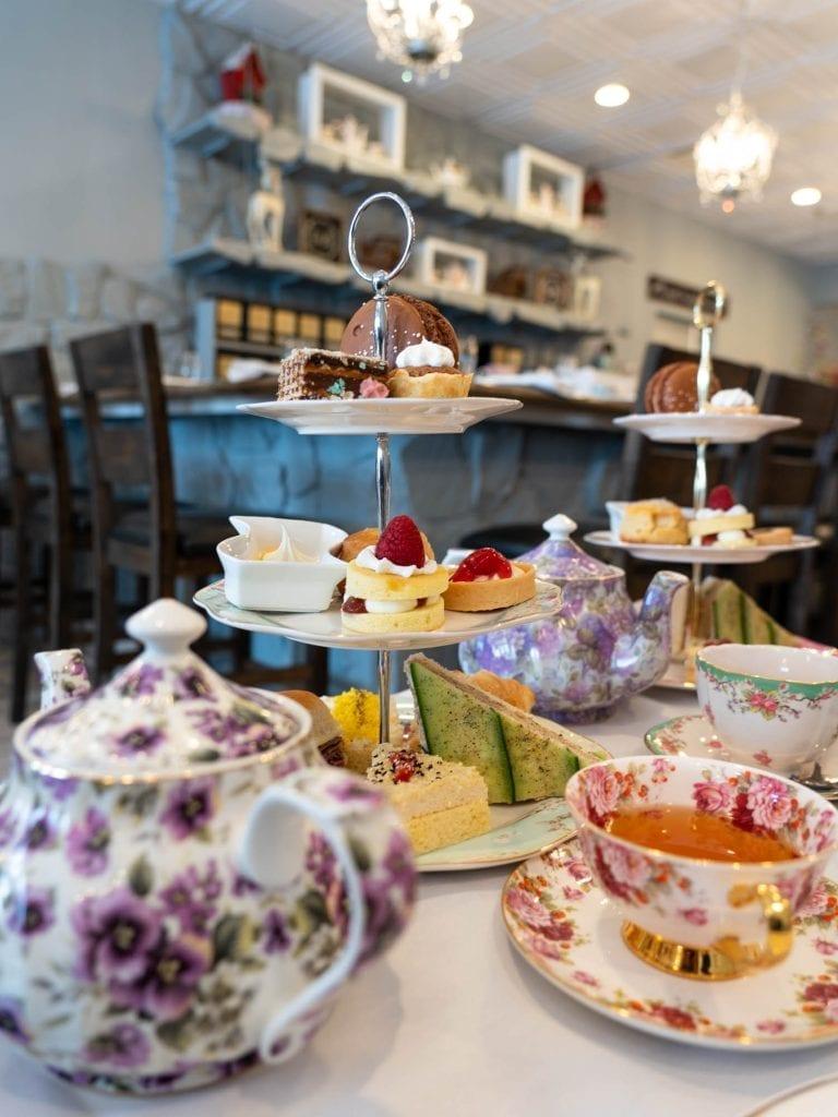 Macaron Tea Room afternoon tea