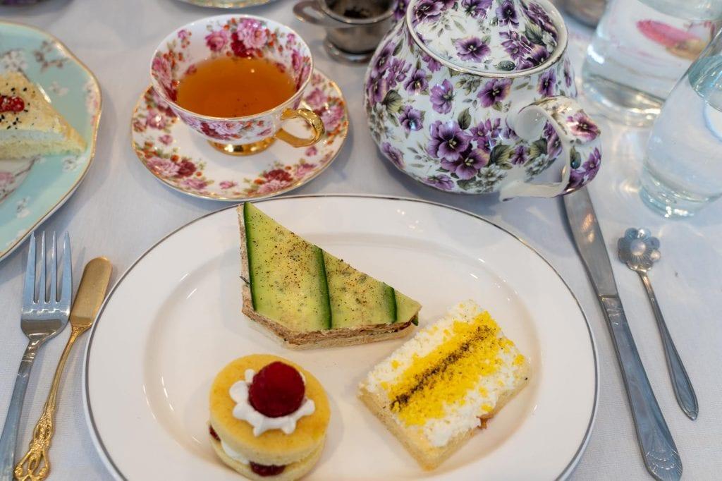 Macaron Tea Room High Tea