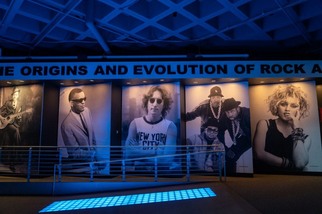 Rock and Roll Hall of Fame exhibit