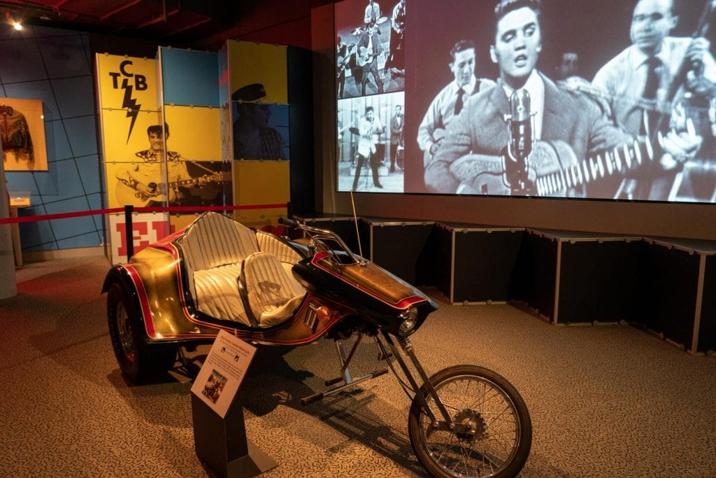 Rock and Roll Hall of Fame Elvis exhibit