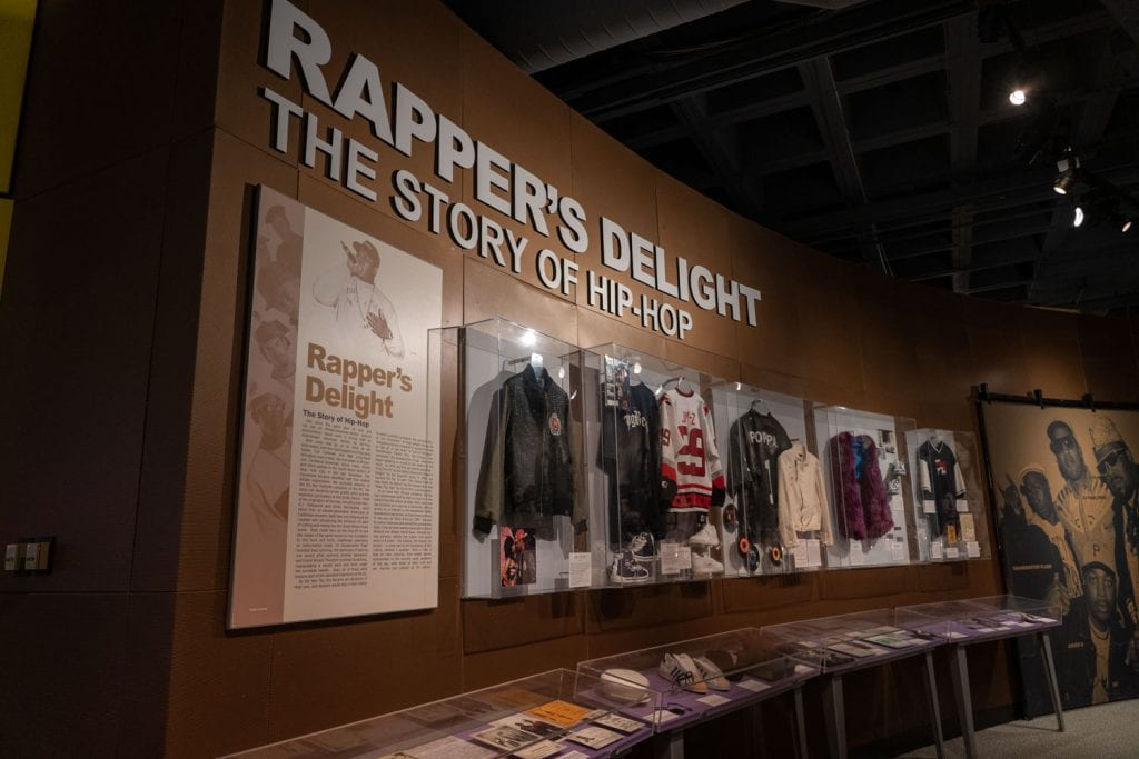 Rock and Roll Hall of Fame exhibit Hip Hop