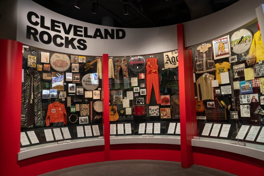 Rock and Roll Hall of Fame Cleveland exhibit