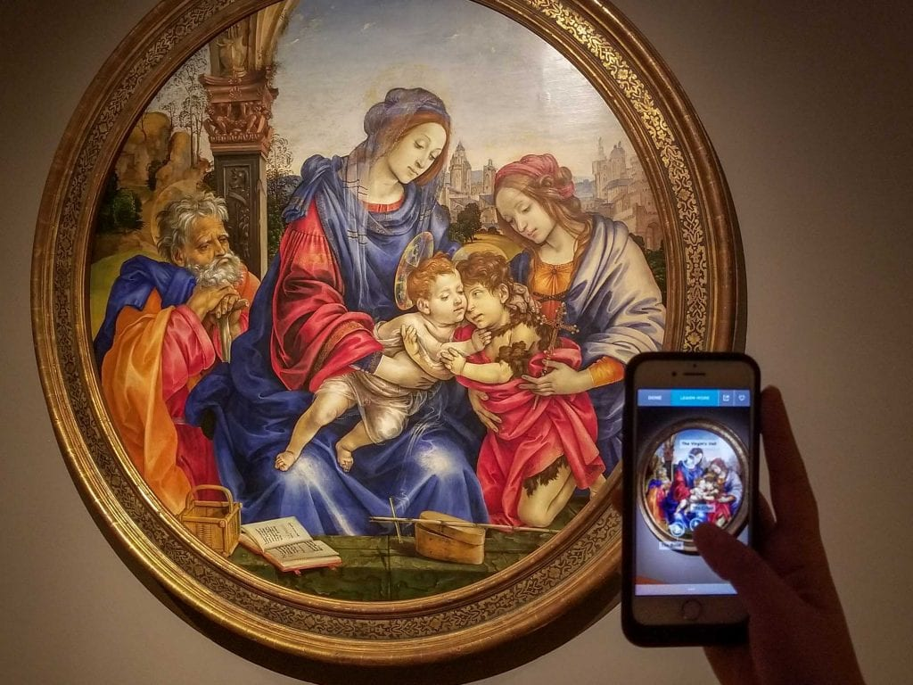ArtLens app at Cleveland Museum of Art