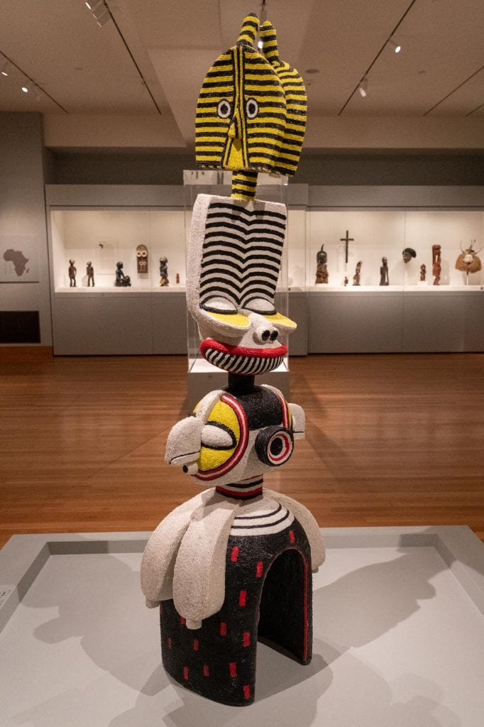 African art gallery at Cleveland Museum of Art