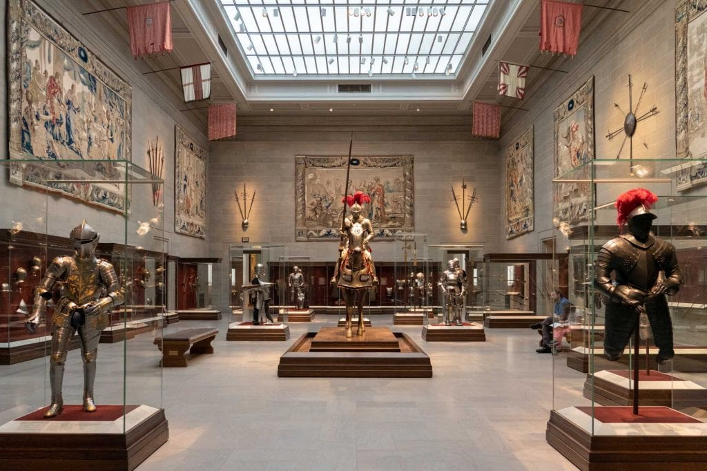 Armor Court at Cleveland Museum of Art