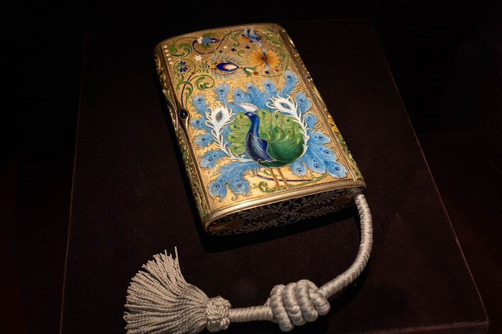 Faberge cigar box at Cleveland Museum of Art
