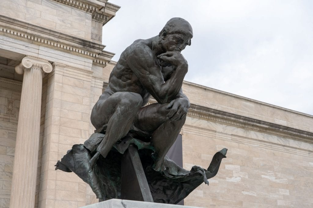 The Thinker at Cleveland Museum of Art