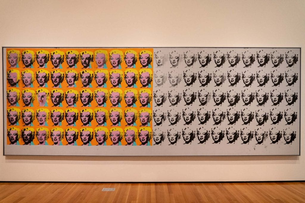 Marilyn x 100 at Cleveland Museum of Art