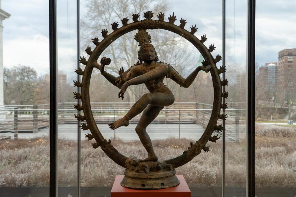 Shiva statue at Cleveland Museum of Art