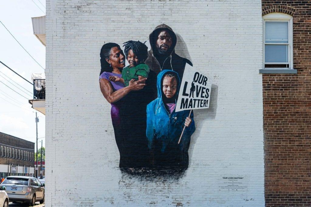 Our Lives Matter mural