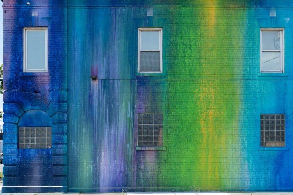 Graffiti Heart building