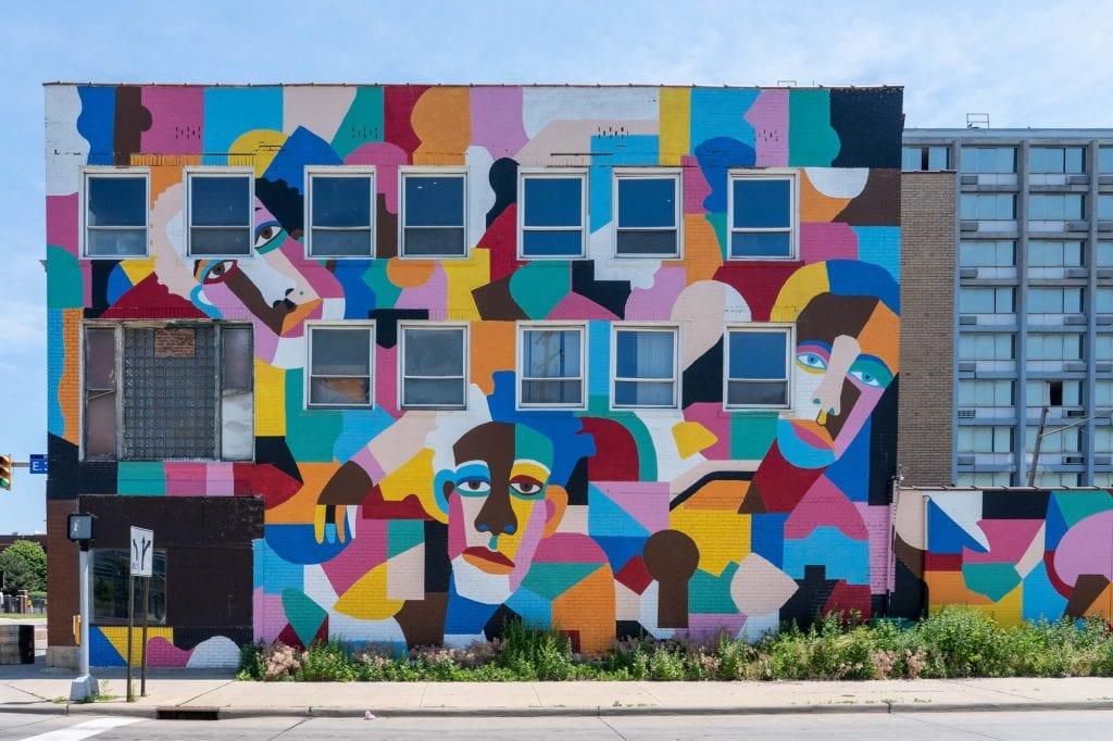 Lady Noel mural in Cleveland