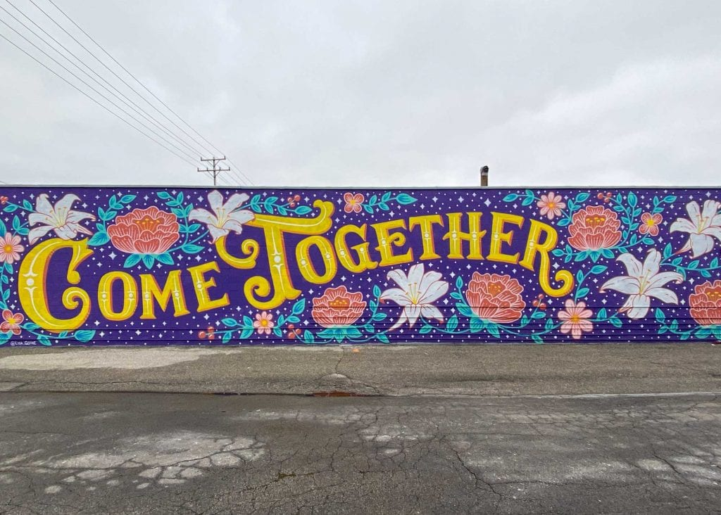 Come Together mural