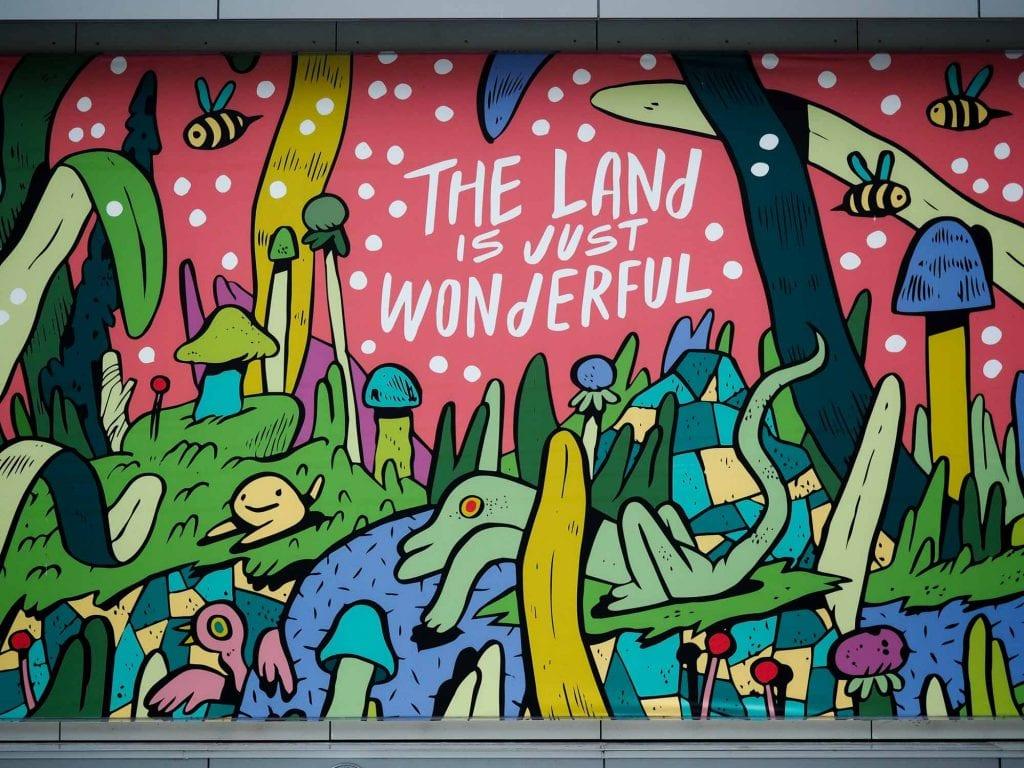 Public Square mural