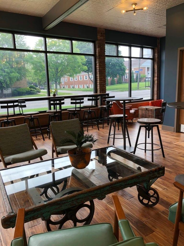 Inside Metropolitan Coffee in Cleveland