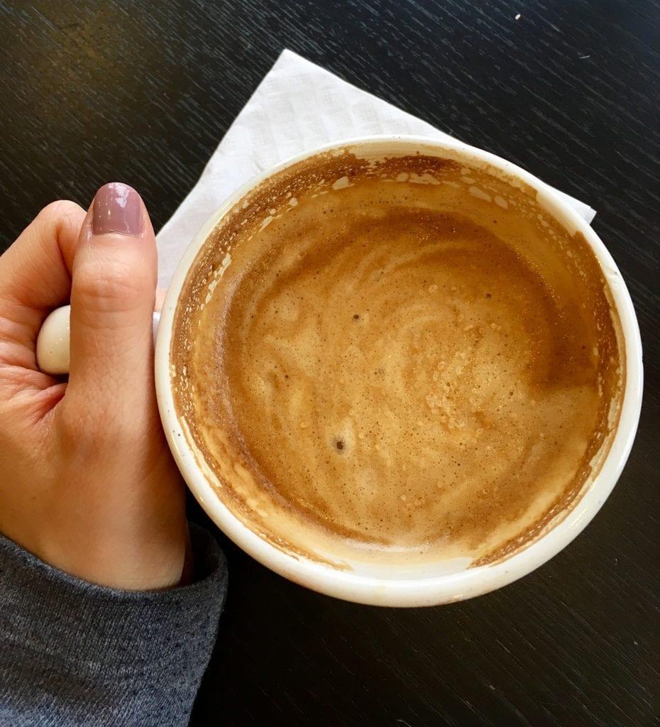 Coffee from Black Bird Baking Company