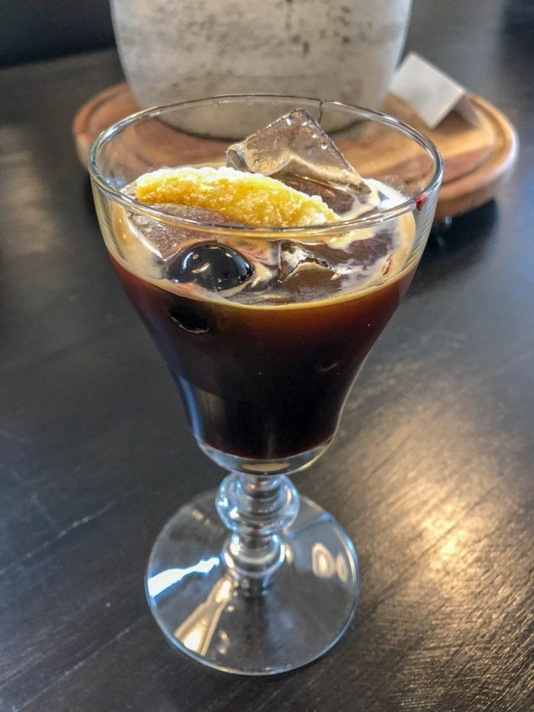 Old Fashioned coffee drink