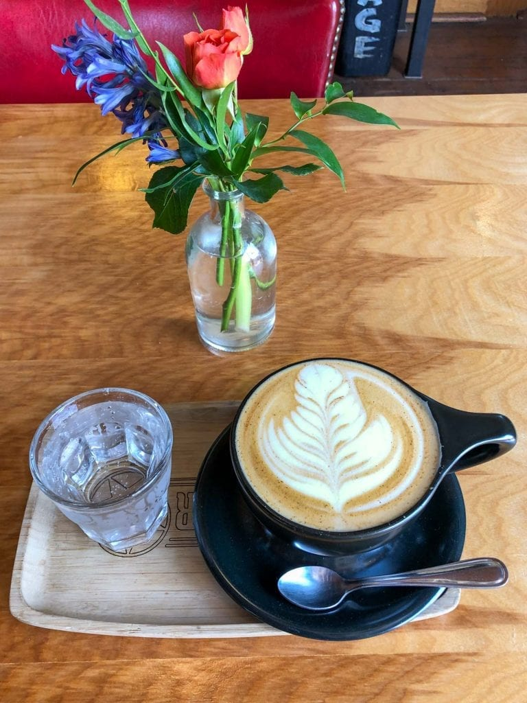 Rising Star Coffee latte