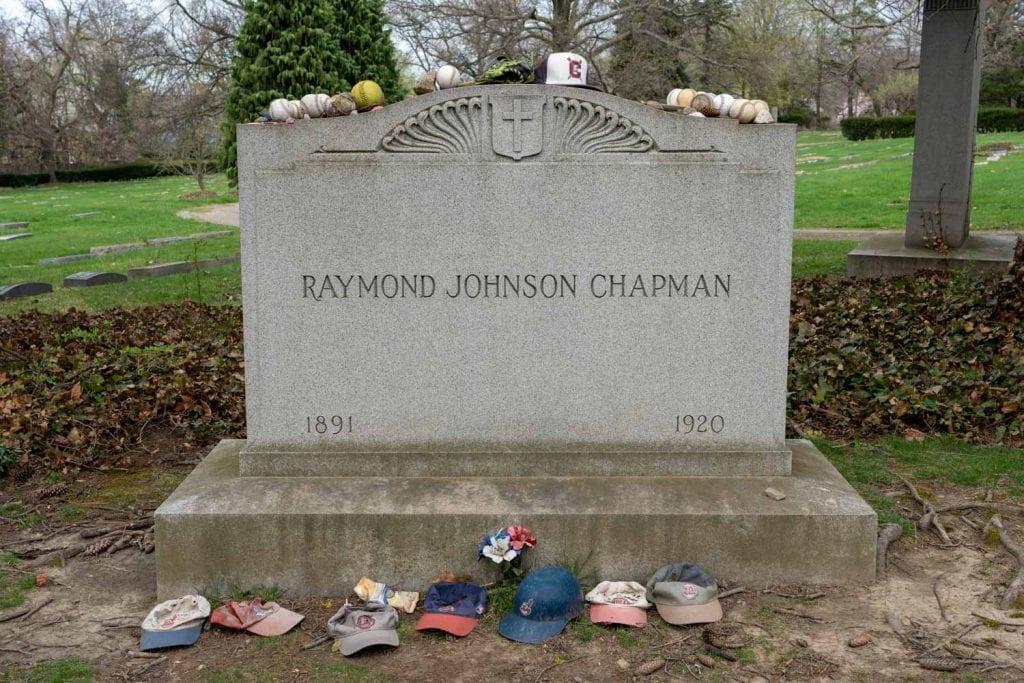 Grave of Ray Chapman
