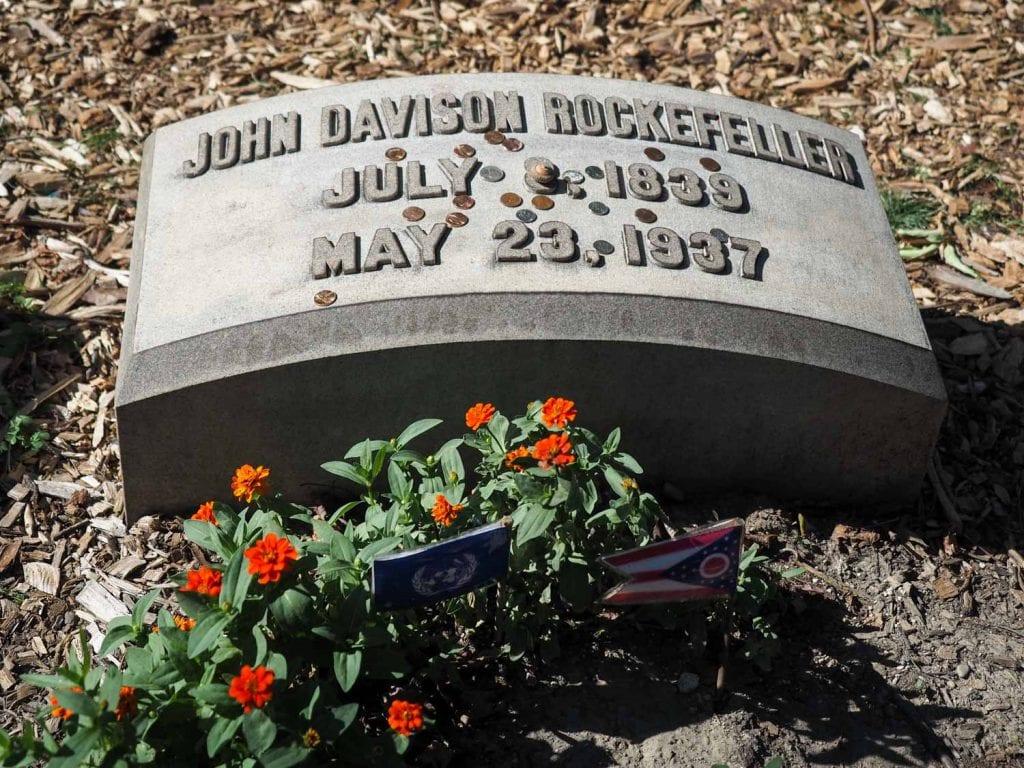 John D Rockefeller grave site