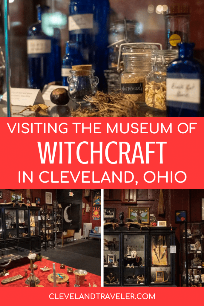 Visiting the Museum of Witchcraft in Cleveland