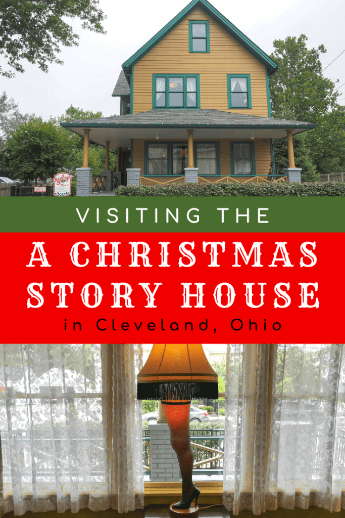 Visiting the Christmas Story House in Cleveland