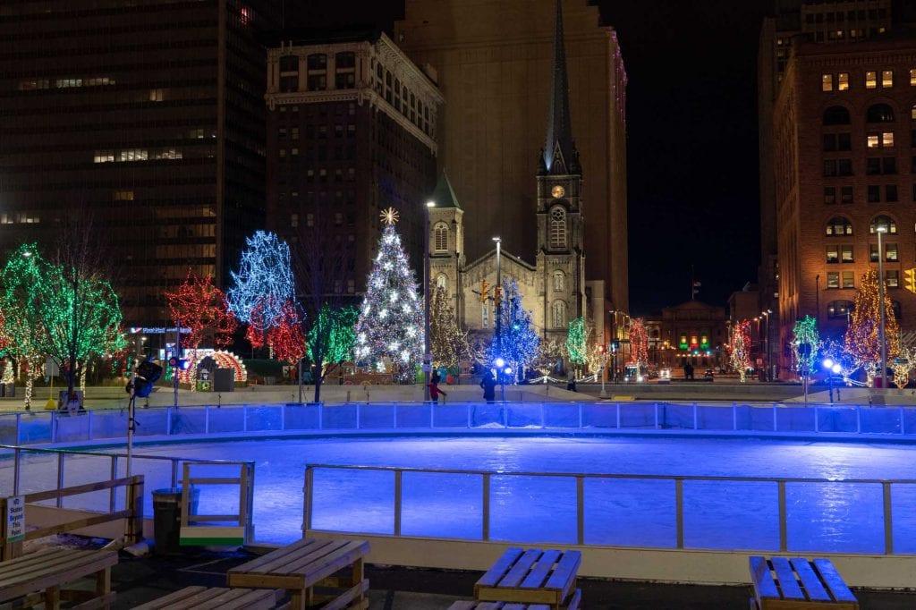 Public Square ice rink