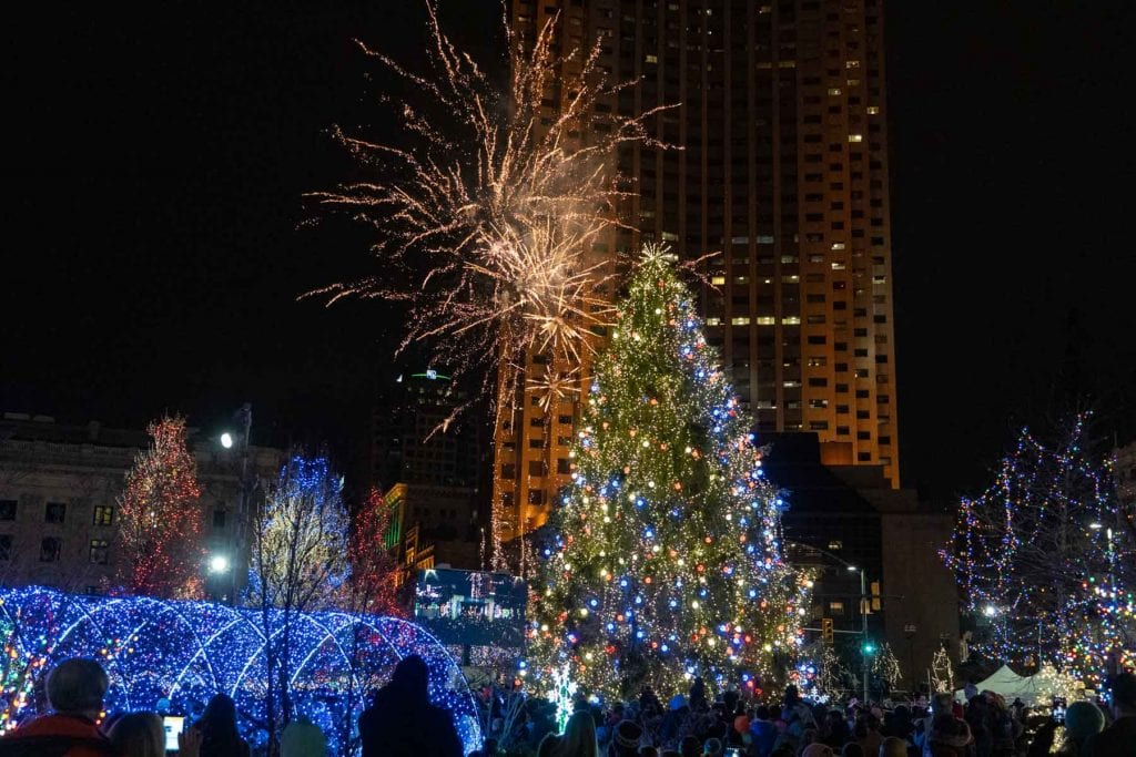 Cleveland Winterfest fireworks