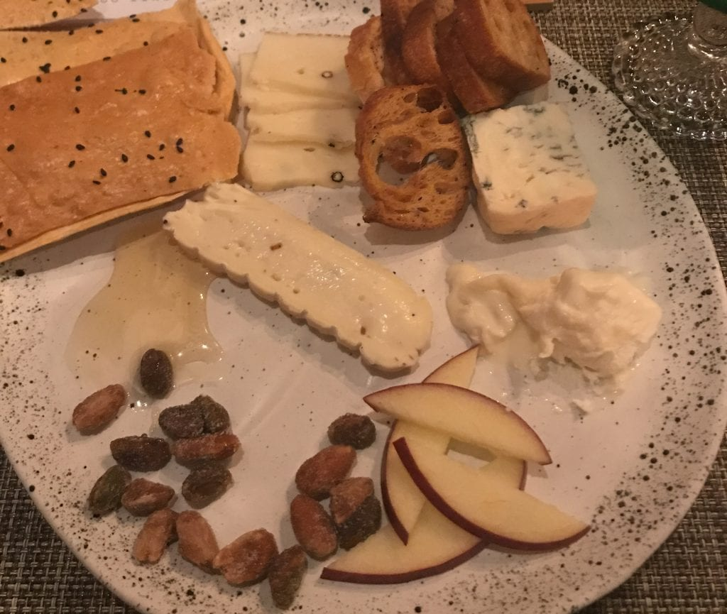 Black Pig cheese plate