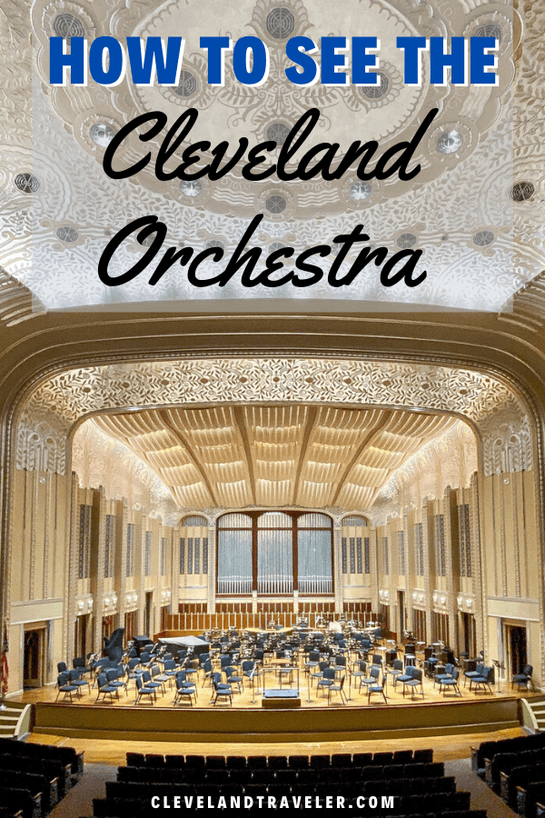 How to see the Cleveland Orchestra