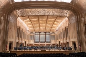 Severance Hall main stage