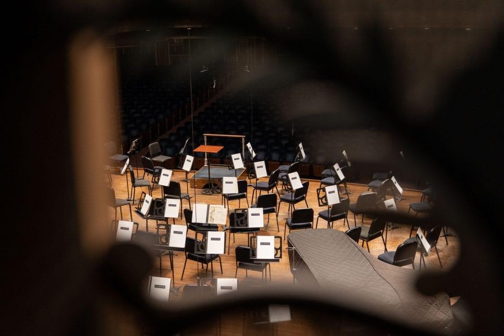 Severance Hall stage