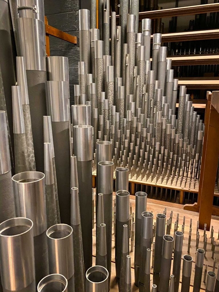 Severance Hall organ pipes