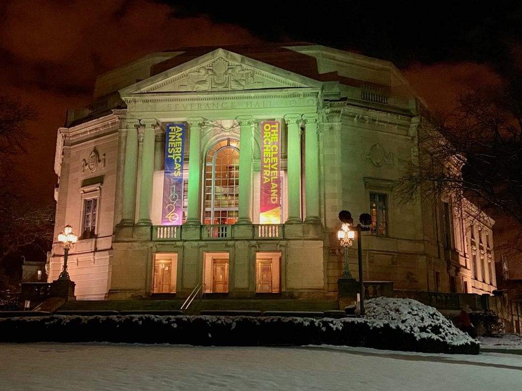 Severance Hall in Cleveland