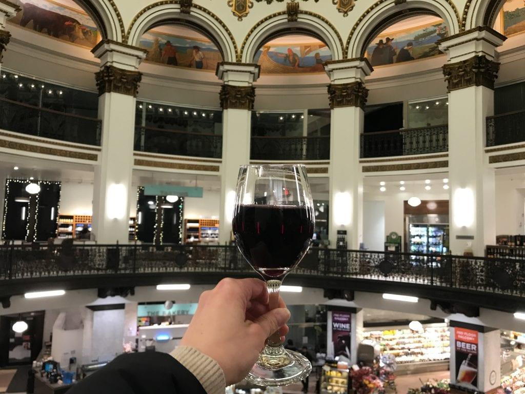 Wine at Heinens Downtown