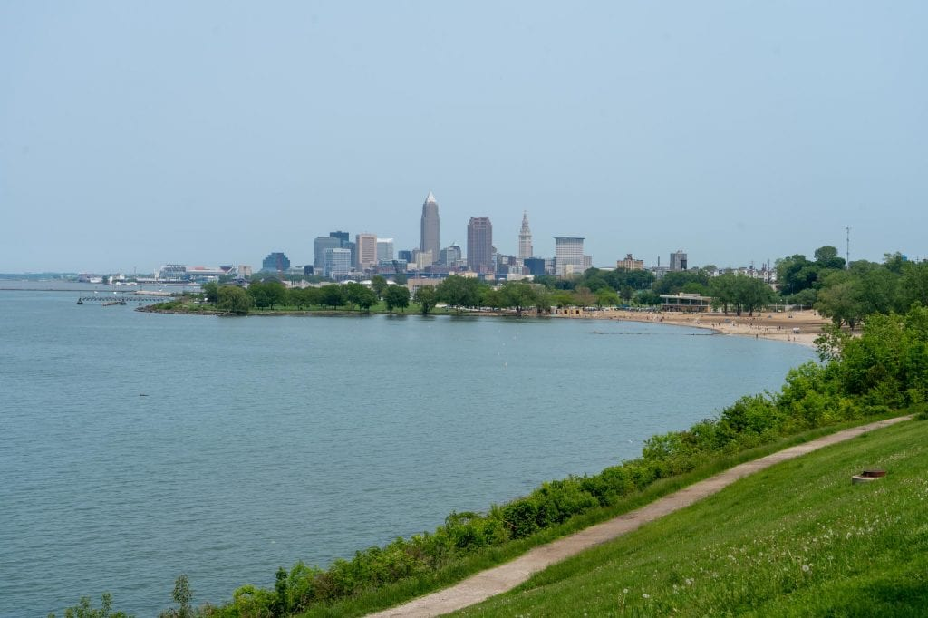 Edgewater Park in Cleveland