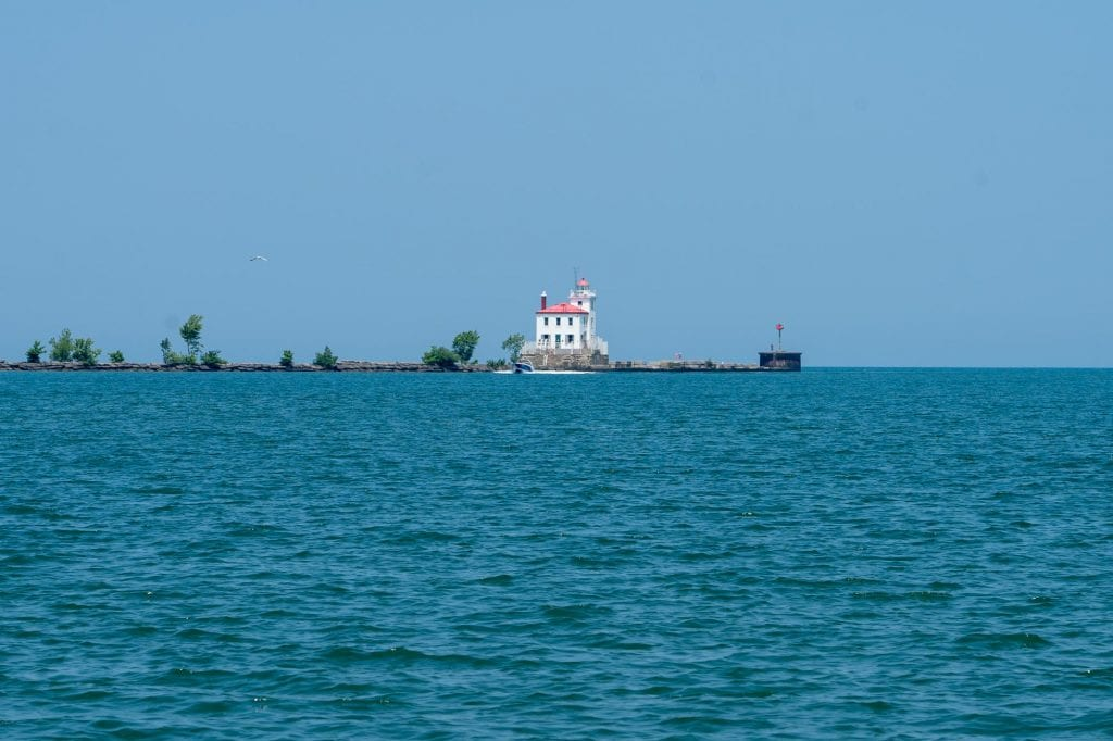 Headlands beach lighthouse