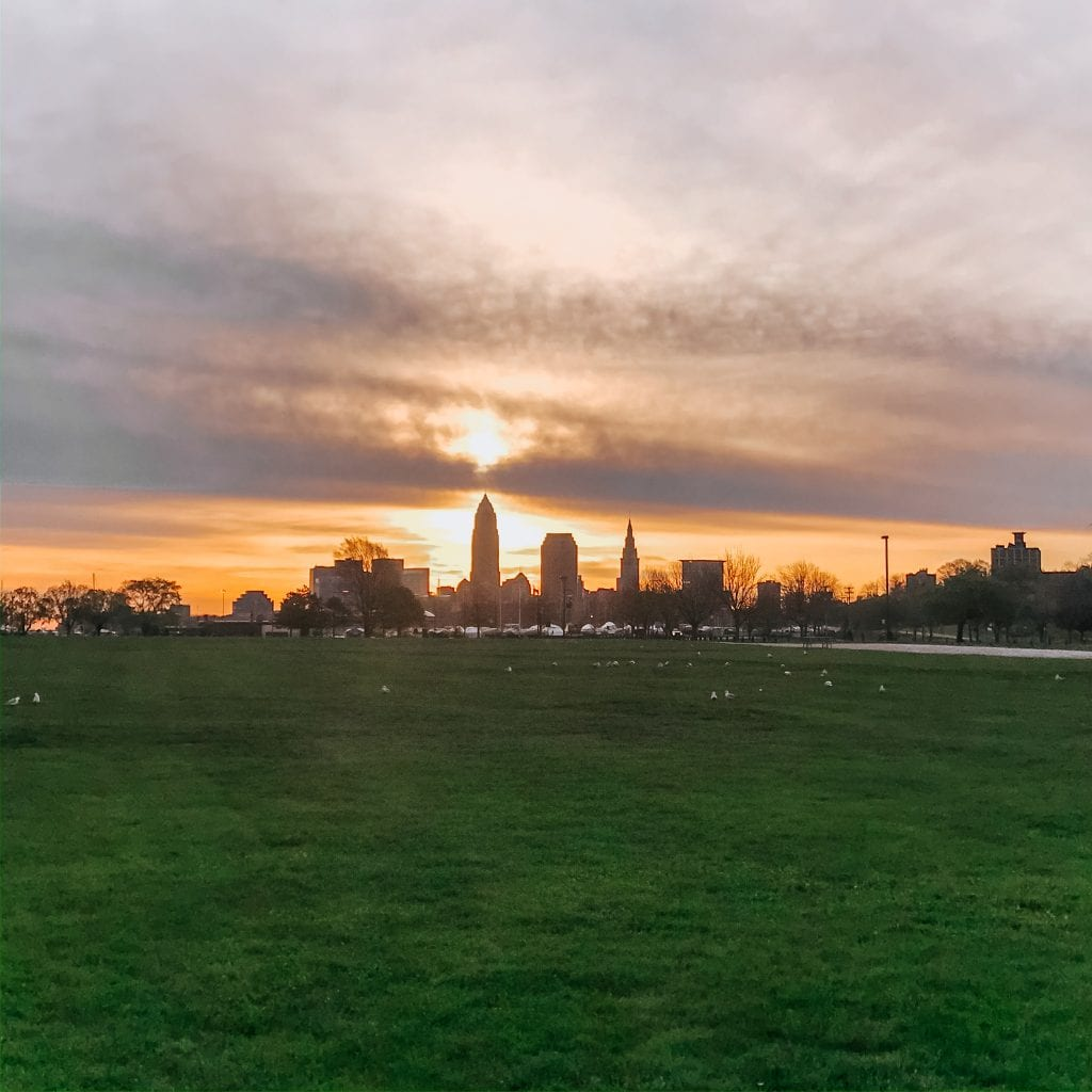 Sunrise at Edgewater Park