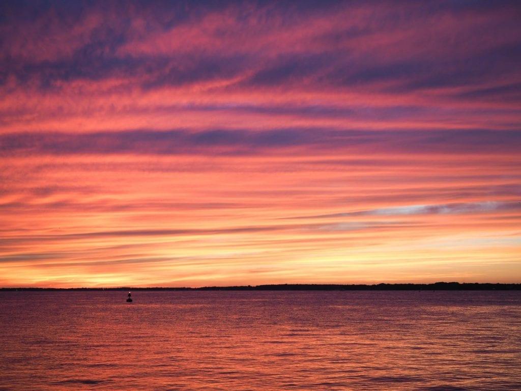 Lake Erie sunset