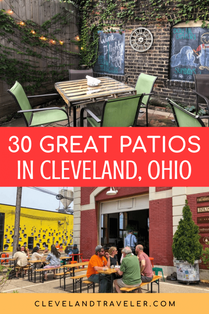 Great patios in Cleveland