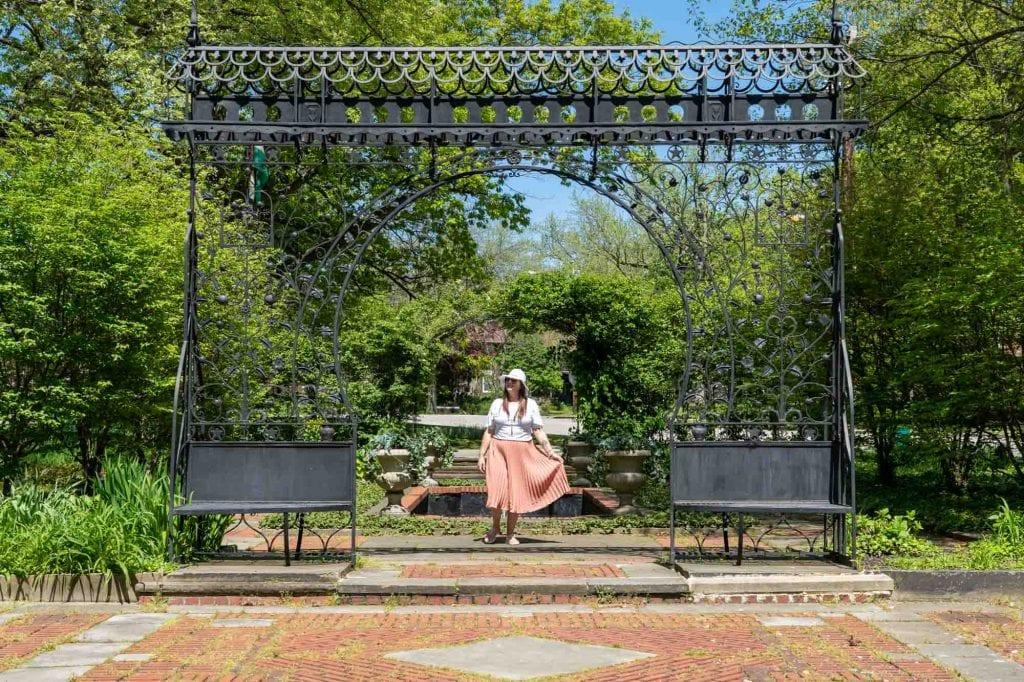 Amanda at the Hungarian Cultural Garden