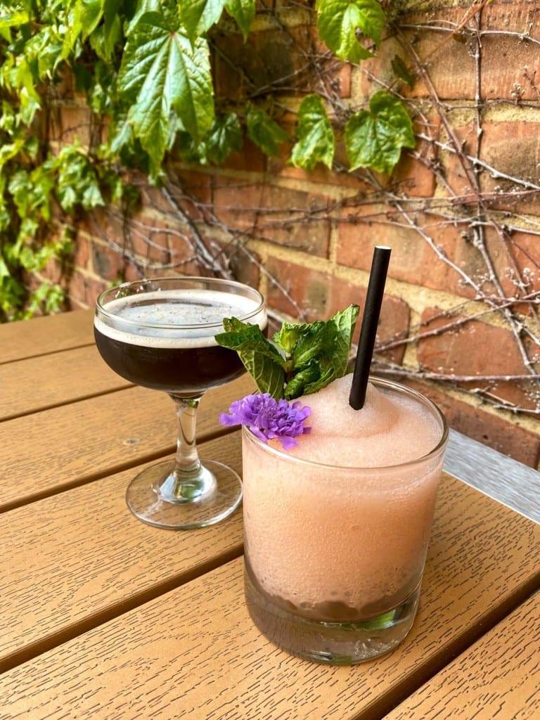 Cocktails on the Fairmount patio