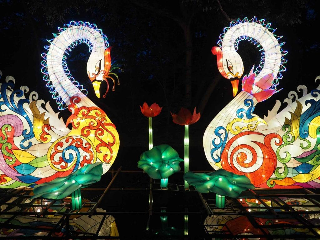 Asian Lantern Festival at Cleveland Zoo