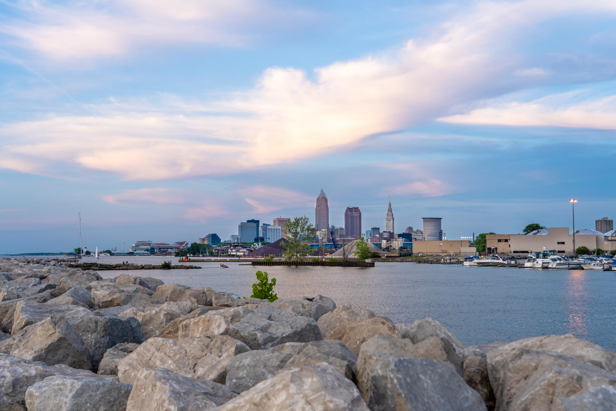Where to See the Best Skyline Views of Cleveland