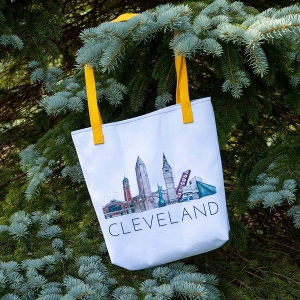 Cleveland Traveler tote
