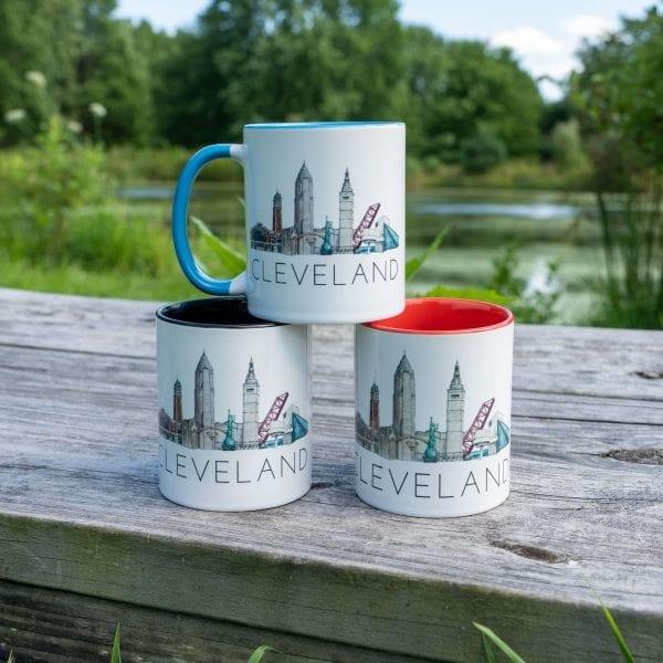 Cleveland Traveler mugs