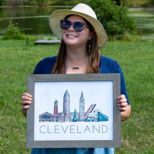 Cleveland Traveler poster